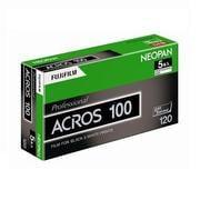 120 ACROS100 EP NP 12EX 5 [黒白フィルム ネオパン100ACROS(120サイズ)12枚撮り 5本パック]