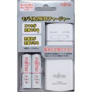 FSC322FX-W(FX) [単3形・単4形兼用 USBモバイル急速充電器セット 単3形2本付 最大2本まで充電可能 ホワイト]