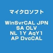 WinSvrCAL JPN SA OLV NL 1Y AqY1 AP DvcCAL [ライセンスソフト]