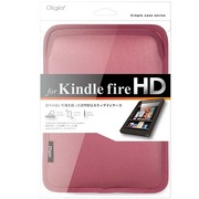 TBC-KFH1203P [タブレット用 スリップインケース (Kindle Fire HD対応) ピンク]