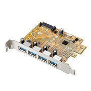 US3-4PEX [USB3.0対応 PCI Express用インターフェースボード]