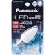 パナソニック LED装飾電球 C形タイプ 昼光色 LDC1DGE12 箱1個