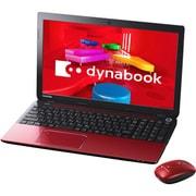 PT55337JBMR [dynabook T553/37JR 15.6型ワイド液晶/HDD 750GB/Blu-rayDiscドライブ/モデナレッド]
