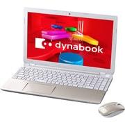 PT55337JBMGD [dynabook T553/37JGD 15.6型ワイド液晶/HDD 750GB/Blu-rayDiscドライブ/ライトゴールド ヨドバシカメラオリジナル]