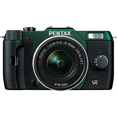 Q7 ズームレンズキット メタルグリーン/ブラック 106 [ボディ+交換レンズ「PENTAX-02 STANDARD ZOOM」]