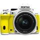 K-50 レンズキット ホワイト/イエロー 010 [ボディ+交換レンズ「smc PENTAX-DA L 18-55mmF3.5-5.6AL WR」]