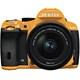 K-50 レンズキット オレンジ/ブラック 022 [ボディ+交換レンズ「smc PENTAX-DA L 18-55mmF3.5-5.6AL WR」]
