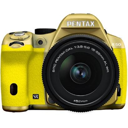 K-50 レンズキット ゴールド/イエロー 075 [ボディ+交換レンズ「smc PENTAX-DA L 18-55mmF3.5-5.6AL WR」]