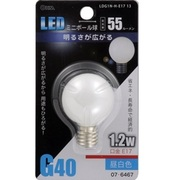 LDG1N-H-E17 13 [LED電球 E17口金 昼白色 55lm]