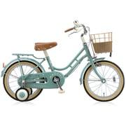 HC182 [幼児用自転車 HACCHI(ハッチ) 18型 グリーン]