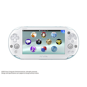 PlayStation Vita Wi-Fiモデル ライトブルー/ホワイト [PS Vita本体 PCH-2000ZA14]