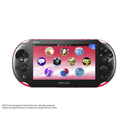 PlayStation Vita Wi-Fiモデル ピンク/ブラック [PS Vita本体 PCH-2000ZA15]
