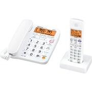 JD-G31CL [停電時通話対応コードレス電話機 子機1台 ホワイト]