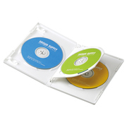 DVD-TN3-03W [DVDトールケース(3枚収納) 3枚パック ホワイト]