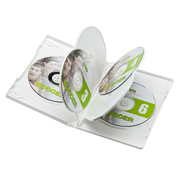 DVD-TN6-03W [DVDトールケース(6枚収納) 3枚パック ホワイト]