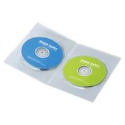 DVD-TU2-10C [スリムDVDトールケース(2枚収納) 10枚パック クリア]