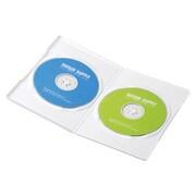 DVD-TU2-10W [スリムDVDトールケース(2枚収納) 10枚パック ホワイト]