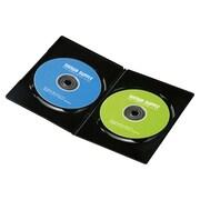 DVD-TU2-30BK [スリムDVDトールケース(2枚収納) 30枚パック ブラック]