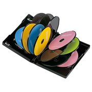 DVD-TW12-03BK [DVDトールケース(12枚収納) 3枚パック ブラック]