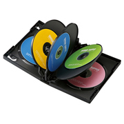 DVD-TW8-03BK [DVDトールケース(8枚収納) 3枚パック ブラック]