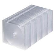FCD-PU50C [DVD/CDケース(1枚収納) 50枚セット クリア]