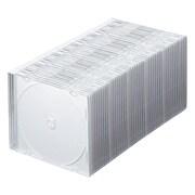 FCD-PU50MW [DVD/CDケース(1枚収納) 50枚セット マットホワイト]