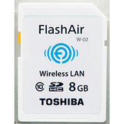 SD-WC008G [FlashAir W-02 メモリーカード 8GB]