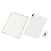 RT-PA5C1/W [iPad Air用 RT-PA5C1シリーズ  シルキータッチ シリコンジャケット ホワイト(半透明)]