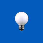 G50 E14 100/110V-25W(S) [白熱電球 ボール電球 E14口金 100~110V 25W形 50mm径 ホワイト]