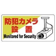 802-60 [防犯用標識 防犯カメラ設置・エコユニボード・200X400]