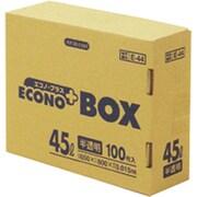 E-44-HCL [E-44エコノプラスBOX45L半透明 100枚]