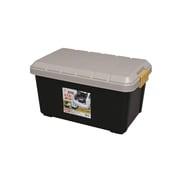 RV600-KBK [カー収納 RVBOX 615×375×330 ふた/カーキ 本体/ブラック]