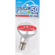 LB-R5750K-F [白熱電球 クリプトンミニレランプ E17口金 100~110V 50W形(45W) 50mm径 フロスト]