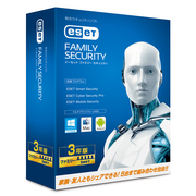 ESET ファミリー セキュリティ 2014 3年版 [Windows/Mac/Android]