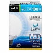 LDG14D-G-G204 [LED電球 E26口金 昼光色 1340lm 高配光 LED elpaball(エルパボール)]