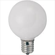 G50E12110V25W [白熱電球 ボールランプ E12口金 110V 25W形 バルブ径50mm ホワイト]
