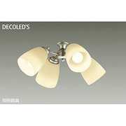 DP-37979 [LEDシーリングファン用灯具 ~6畳 11W×4灯 E26 非調光 電球色]