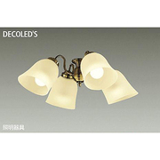 DP-37981 [LEDシーリングファン用灯具 ~6畳 11W×4灯 E26 非調光 電球色]