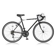 Grandir Sensitive [ロードバイク 520mm 700×28C 外装21段変速 ブラック]