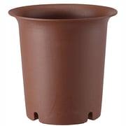 陶鉢 深型8号 えび茶