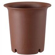 陶鉢 深型10号 えび茶