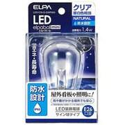 LDS1CN-G-GWP905 [LED電球 E26口金 昼白色 クリア 60lm 防水 LED elpaball mini(エルパボール ミニ)]