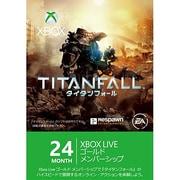 Xbox360 Live24ヶ月 GMS タイタンフォール [L2R-00009 ゴールドメンバーシップ]
