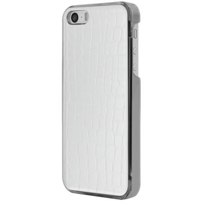 ICC WH-L [IC-COVER Leather ICカード対応 iPhone 5S/5専用ケース レザー調ホワイト]