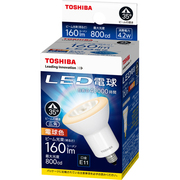 LDR4L-W-E11/2 [LED電球 E11口金 電球色 800カンデラ 広角]