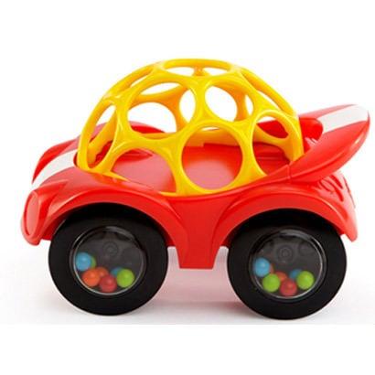 キッズツーの「オーボール」を利用した車型知育玩具の画像