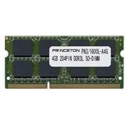 PDN3/1600L-A4G [PC3L-12800(DDR3L-1600) CL=11 204PIN SO-DIMM 4GBx1枚組(4Gbit/512*8構成)]