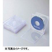 CCD-JSCNW5CR [Blu-ray/DVD/CDプラケース (2枚収納/5パック) クリア]