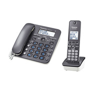 VE-GD32DL-H [コードレスデジタルコードレス電話機 RU・RU・RU(ル・ル・ル) 電話機 子機1台タイプ ダークメタリック]