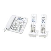 VE-GD32DW-W [デジタルコードレス電話機 子機2台タイプ ホワイト]